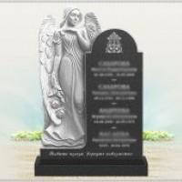 Памятники на могилу с ангелом